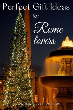 Looking for the perfect gift idea for someone who loves Rome? Find out cool and fun Rome theme gifts in this list of stocking stuffer and Christmas gift ideas for people who love Rome