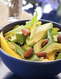 Salade d'avocat à l'ananas