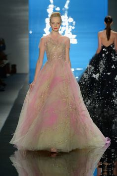 From Reem Acra's SS13 show--couldn't you see it as a wedding dress?!