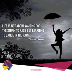 Don't wait for the perfect moment, take the moment and make it perfect! Rain Dance, Dancing In The Rain, Learn To Dance, Business Quotes, Quote Of The Day, Favorite Quotes, Waiting, In This Moment, Learning