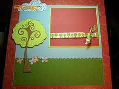 Bug Junkie: Cricut Straight From The Nest - Scrapbook Page