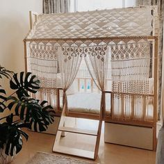 Our Generation Canopy Bed – Canopy House Warm Home Decor, Home Decor Colors, Diy Home Decor, Canopy Swing, Kids Canopy, Baby Bedroom, Kids Bedroom, Bedroom Decor, Ux Design