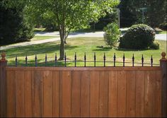 New Trend Fence Toppers- These are amazing but I can't find any in the USA.
