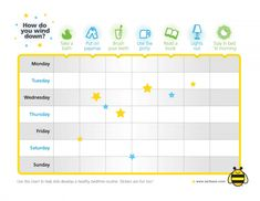 Healthy Bedtime Routine Ideas for Kids + Printable Sleep Rewards Chart #sponsored #MC #SleepWeek