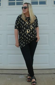 The Peacock Fairy: Feathered Tunic #ootd #wiw #momstyle #LLR