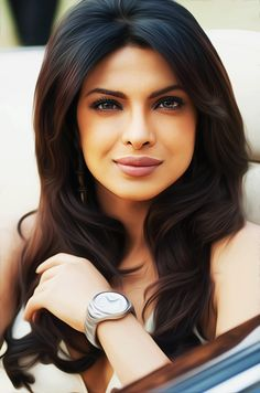 """Priyanka Chopra """"I hope I help create an environment where girls could be safe. With UNICEF, we are trying to create actual physical environment for girls where they could be safe, especially in villages,"""" she said `"""