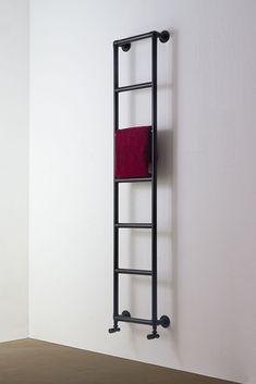 Matt Black Classic Heated Towel Rail – Best Towel Models and Patterns 2020 Master Bathroom Design, Glamorous Bathroom Decor, Modern Towels, Bathroom Towels, Rack Design, Bathroom Design, Bathroom Decor, Bathroom Radiators, Black Bathroom