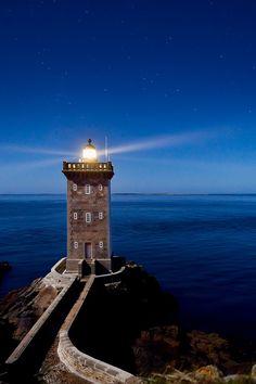 Le phare de Kermorvan (via Brestitude)