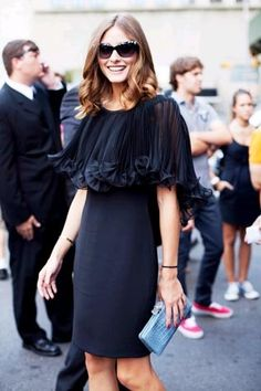Fashion on the streets of NYFW - Olivia Palermo