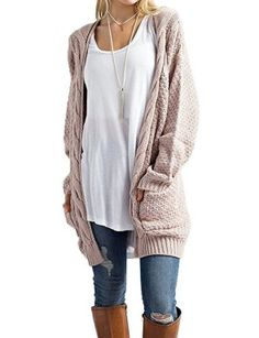 0a1cf9ffb6 This look is great for cute cold weather outfits! Cardigans For Women