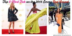Top 5 Most Fab on the 2014 Emmy Red Carpet #Emmys #Emmys2014