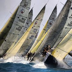 Farr Looks like this on the start line at RTC.Tight Start Farr Looks like this on the start line at RTC. Yacht Racing Charter Antigua, Caribbean and the world! Sail Racing, Sailboat Racing, Classic Sailing, Yacht Boat, Dinghy, Sail Away, Tall Ships, Water Crafts, Canoe