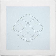#87 Rhomboids – A new minimal geometric composition each day