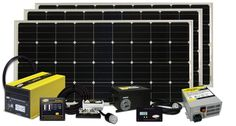 At first, trying to figure out how to design the perfect solar power system can be overwhelming. What size solar panels do you need? What type of solar batteries are best. How much should a solar power system cost? Rv Solar Panels, Solar Panel Kits, Solar Energy Panels, Solar Panels For Home, Diy Solar, Motorhome, V Max, Diy Rv, Solar Projects