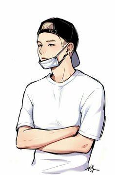 ユンギ✨🧢 my love yoongi Bts Art, Bts Anime, Fanart Bts, K Wallpaper, Wallpaper Ideas, Kpop Drawings, Bts Chibi, Bts Suga, Yoonmin