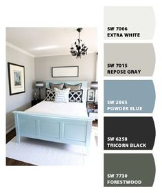 Paint colors from Chip It! by Sherwin-Williams-- love these colors!!