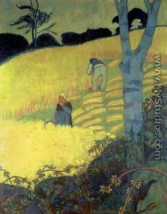 Harvest Scene - Paul Serusier