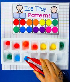 Looking for fun Color Worksheets for preschool? You've found them and a bunch of fun, hands-on, play-based learning centers as well. Recognition, sorting and more. Color Worksheets For Preschool, Preschool Colors, Preschool Centers, Preschool At Home, Preschool Learning Activities, Preschool Curriculum, Preschool Classroom, Kindergarten Math, Toddler Activities
