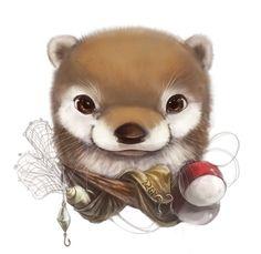 Cute Animal Portraits by Yee Chong Wee