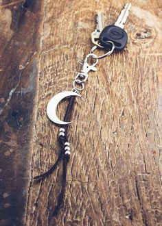 Moonrise Keychain | Bohemian Fashion Accessories | SoulMakes #bohemian