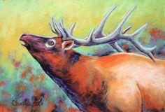 Beautiful pastel painting of longhorn steer by Carol Santora for . Elk Drawing, Moose Art, Fine Art, Gallery, Drawings, Artist, Longhorn Steer, Painting, Animals