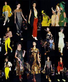 1989 - Jean Paul Gaultier show 'Voyage autour du monde en 168 tenues'