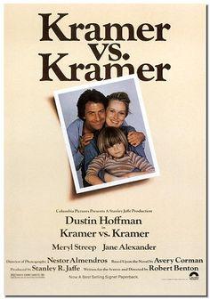 """""""Kramer vs. Kramer"""" directed by Robert Benton / highest grossing film in 1979"""