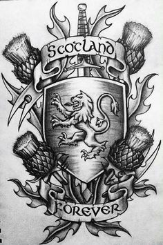 scottish tattoo sleeve - Google Search                                                                                                                                                                                 More