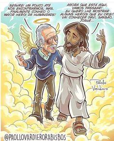 Christian Comics, Christian Humor, Bible Verses Quotes, Bible Scriptures, God Jesus, Jesus Christ, Jesus Artwork, Jesus Cartoon, Gospel Bible