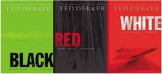 Ted Dekker's trilogy, Black, Red, and White was a thriller to say the least. Loved it. Got a little slow in the book Red but bare with it because it gets good!