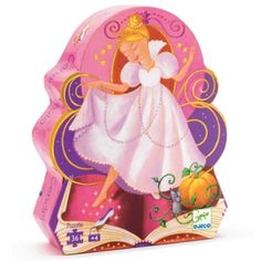 Djeco Cinderella Puzzle captures the essence of the Cinderella story through 3 scenes from this classic story. Djeco Cinderella 36 Piece Floor Puzzle from Hotaling Imports. Ages 4 and up. Puzzle Djeco, Toys For Girls, Kids Toys, Cinderella Silhouette, Dream Baby, Pretty Box, Fun Challenges, Puzzles For Kids, Toys Online