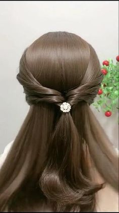 Braided Hairstyles Tutorials, Quick Hairstyles, Heatless Hairstyles, School Hairstyles, Easy Party Hairstyles, Retro Hairstyles, Hair Tutorials, Front Hair Styles, Medium Hair Styles