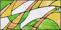 Stained glass look fluorescent light panel covers Fluorescent Light Covers, Light Panel, Custom Windows, Stained Glass Designs, Lighting System, New Homes, Abstract, Gallery, Bliss