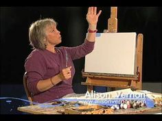 ▶ Alison Vernon Palette Knife Painting - YouTube