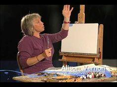 ▶ Alison Vernon Palette Knife Painting - YouTube