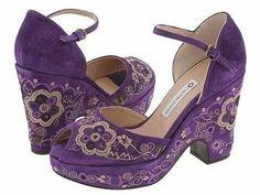Purple Shoes.