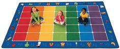Fun with Phonics Classroom Rug
