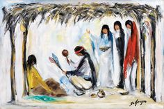 For more than fifty years, DeGrazia painted the Sonoran desert, it's creatures and the narratives of the Southwest's Native American culture. DeGrazia Gallery in the Sun open daily from 10-4, free admission.