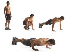 1. Burpee http://www.menshealth.com/fitness/10-flat-belly-exercises/slide/2