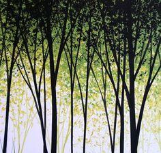 Acrylgemälde Original große abstrakte moderne von AmyGiacomelli