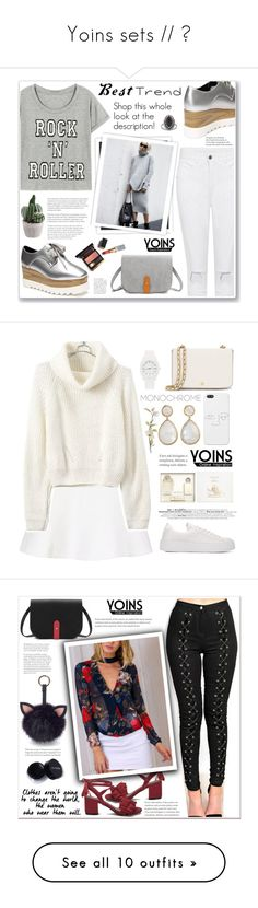 """Yoins sets // ♥"" by soygabbie ❤ liked on Polyvore featuring yoins, yoinscollection, loveyoins, GALA, Topshop, Tory Burch, Nixon, Irene Neuwirth, Pier 1 Imports and Under One Sky"