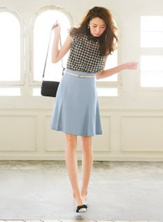 Not feeling the top, but the skirt is nice.   ~Natalya