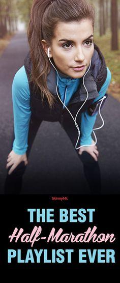The Best Half-Marathon Playlist Ever! #running #playlist #skinnyms