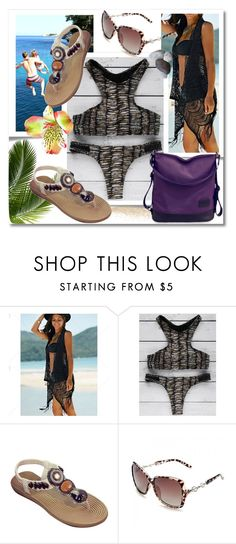 """TwinkleDeals: Bikini"" by andrea2andare ❤ liked on Polyvore featuring Therapy"