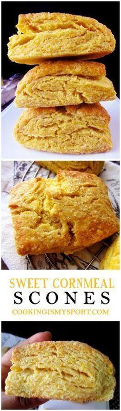 Sweet Cornmeal Scone...