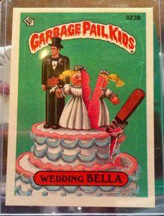 1987 Topps Garbage Pail Kids Trading Card #323b on Etsy, $2.00