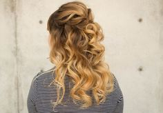 Today I've teamed up with Kenra Hair products to bring you some fun bridal looks. Today's bridal look is a half up curly bridal style utilizing all of their ...