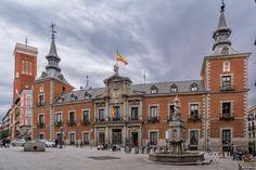 Palacio de Santa Cruz, Madrid España