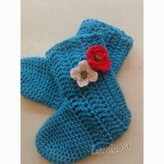 Lumioosi: Virkattu sukka