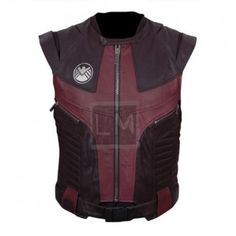 Avengers Age Of Ultron. Hawkeyes Genuine Leather Vest